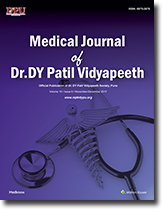 Medical Journal of Dr. D.Y. Patil Vidyapeeth